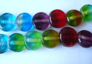 two-tone-rainbow-flat-round-disc